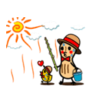 ピーナッツRとピーちゃん(個別スタンプ:36)