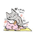 いのつく仔猫2(あ猫)(個別スタンプ:34)