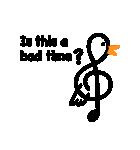 TREBLE CLEF BIRD 2(個別スタンプ:23)