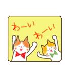 リボン猫の日常(個別スタンプ:12)