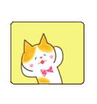 リボン猫の日常(個別スタンプ:30)