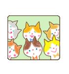 リボン猫の日常(個別スタンプ:32)