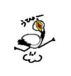 近所の鶴[ツル]さん(個別スタンプ:12)