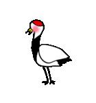 近所の鶴[ツル]さん(個別スタンプ:22)