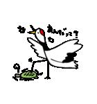 近所の鶴[ツル]さん(個別スタンプ:26)