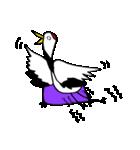近所の鶴[ツル]さん(個別スタンプ:30)