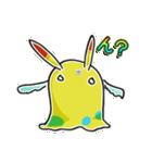 関西弁 うさぎ耳スライムモンスター(個別スタンプ:37)
