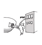 お椀のピピ(ピピ語対応)(個別スタンプ:13)