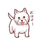 いぬだらけ。小型犬-その1-(個別スタンプ:5)