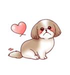いぬだらけ。小型犬-その1-(個別スタンプ:10)