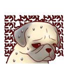 いぬだらけ。小型犬-その1-(個別スタンプ:17)
