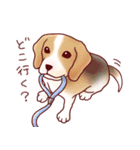 いぬだらけ。小型犬-その1-(個別スタンプ:25)