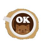 Cafeねこ(個別スタンプ:01)