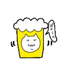 ねこビール(個別スタンプ:35)