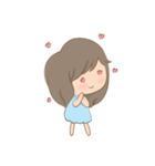 little photography & fat girl(個別スタンプ:01)
