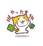 猫と四つ葉のクローバー(個別スタンプ:20)