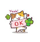 猫と四つ葉のクローバー(個別スタンプ:33)
