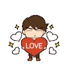 Lovely You & Me : JP(個別スタンプ:05)