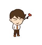 Lovely You & Me : JP(個別スタンプ:08)