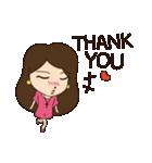Lovely You & Me : JP(個別スタンプ:09)