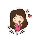 Lovely You & Me : JP(個別スタンプ:10)