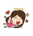Lovely You & Me : JP(個別スタンプ:39)