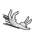 ネガティブ兎(個別スタンプ:30)