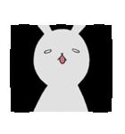 ネガティブ兎(個別スタンプ:36)