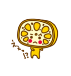 熊本LOVE!辛口れんこんちゃん(個別スタンプ:06)