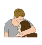 Hugs and Kisses!(個別スタンプ:03)