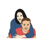 Hugs and Kisses!(個別スタンプ:14)