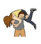 Hugs and Kisses!(個別スタンプ:18)