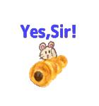 美味しいパンとかわいい動物たち《日本語》(個別スタンプ:7)