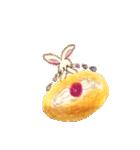 美味しいパンとかわいい動物たち《日本語》(個別スタンプ:31)