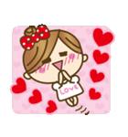 彼女から彼氏へラブラブ♥スタンプ1(個別スタンプ:02)