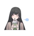 萌える女子高生「九条玲奈」のスタンプ(個別スタンプ:17)