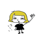 Mrs. Milla (ミセス ミラ)(個別スタンプ:22)