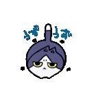 ぷにっとねこ ハチワレ君(個別スタンプ:02)