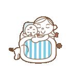 パパ ママ キッズ+ワンッ! 大人トットォ編(個別スタンプ:38)