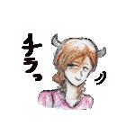 悪魔でもうれしーよ♥(個別スタンプ:13)