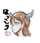 悪魔でもうれしーよ♥(個別スタンプ:40)
