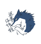 約束したいオオカミのスタンプ(個別スタンプ:21)