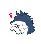 約束したいオオカミのスタンプ(個別スタンプ:25)