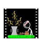 パラパラ漫画スタンプ(個別スタンプ:03)