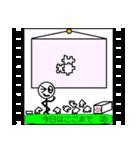 パラパラ漫画スタンプ(個別スタンプ:19)