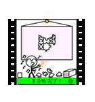 パラパラ漫画スタンプ(個別スタンプ:20)