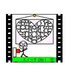 パラパラ漫画スタンプ(個別スタンプ:23)