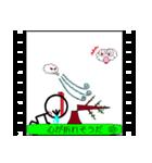 パラパラ漫画スタンプ(個別スタンプ:37)