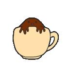 混ざらないミルクとコーヒー(個別スタンプ:5)
