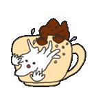 混ざらないミルクとコーヒー(個別スタンプ:11)